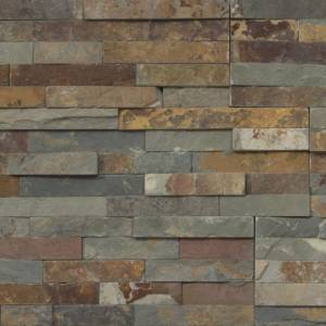 Shadowstone Collection by Realstone Systems Ledger Panel 6x24 Terracotta