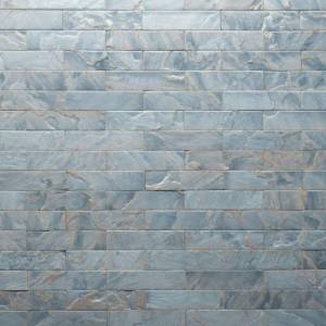 Tempered Collection by Realstone Systems Sandstone Tile 3x11.75 Blue Opal Glaze