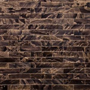 Tempered Collection by Realstone Systems Sandstone Tile 3x11.75 Pyrite Glaze