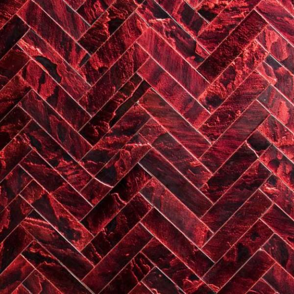 Ruby Herringbone