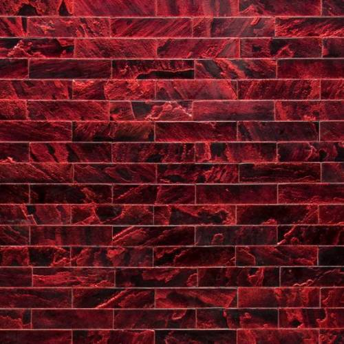 Tempered Collection by Realstone Systems Sandstone Tile 3x11.75 Ruby Glaze