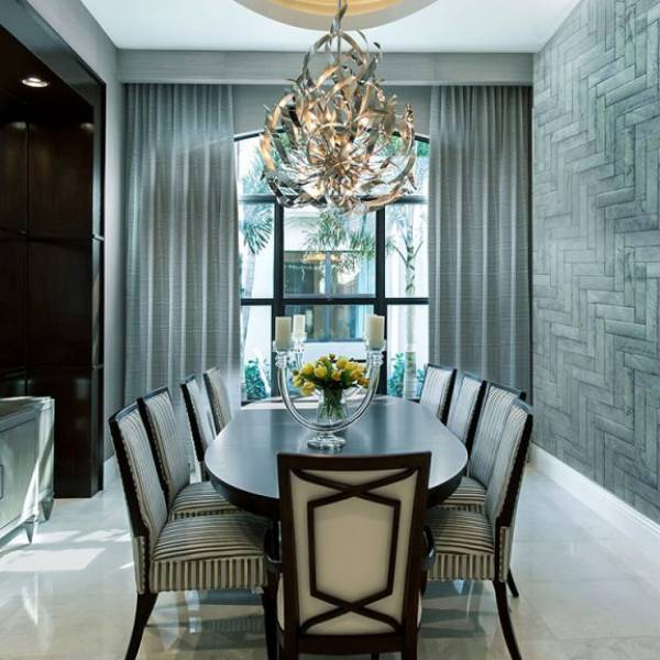 Sea Foam Dining Room