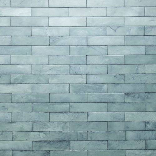 Tempered Collection by Realstone Systems Slate Tile 3x11.75 Sea Foam Glaze