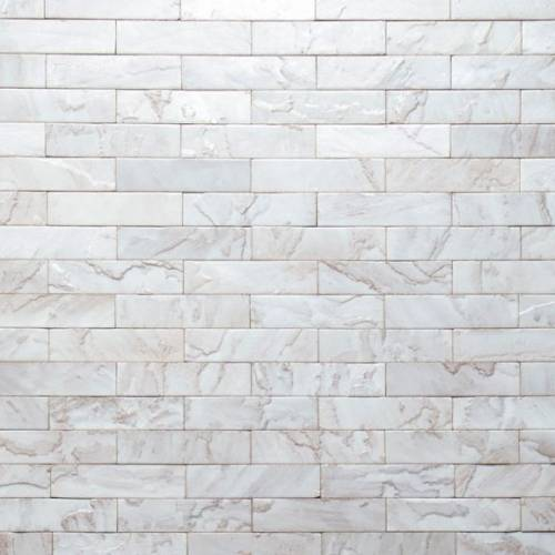 Tempered Collection by Realstone Systems Sandstone Tile 3x11.75 Snow Drift Glaze