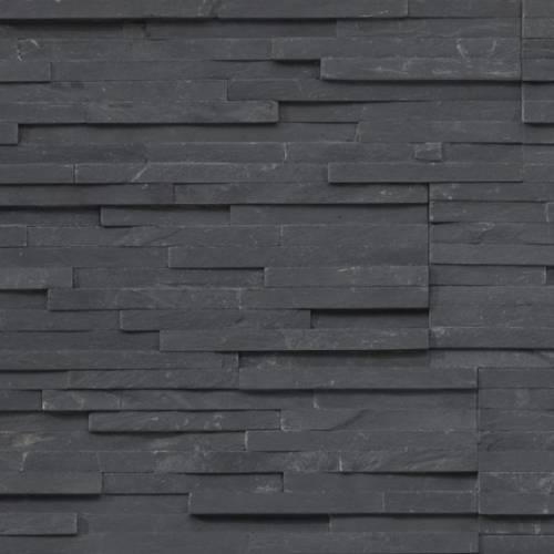 Thinstone Collection by Realstone Systems Ledger Panel 6x24 Thin Charcoal