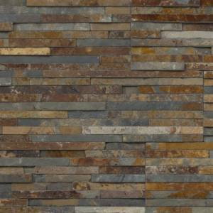 Thinstone Collection by Realstone Systems Ledger Panel 6x24 Thin Terracotta