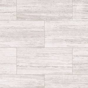 Sono Eclipse Tile Collection by Inhaus 12 in. x 25 in. - Pearl Travertine