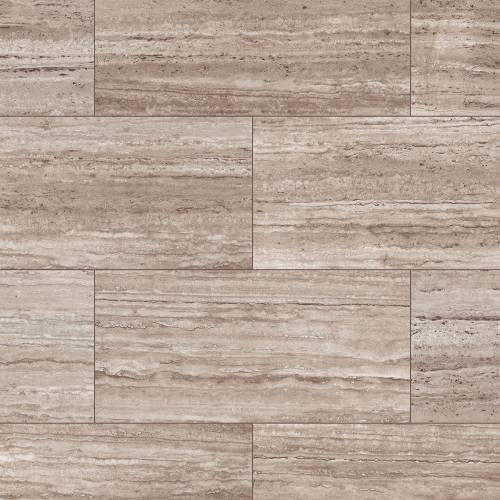 Sono Eclipse Tile Collection by Inhaus 12 in. x 25 in. - Pepper Travertine