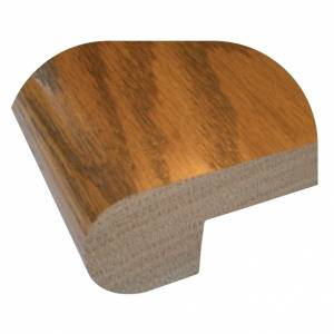 Stair Nosing 3/8'' by StareCasing Brazilian Cherry Unfinished 48""