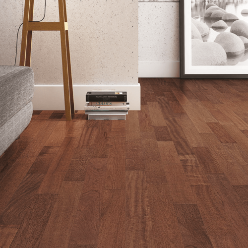 Engineered Collection by Triangulo Engineered Hardwood 3-1/4 in. Brazilian Cherry - Royal