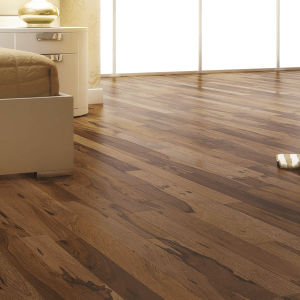 Solids Collection by Triangulo Solid Hardwood 3 in. Brazilian Pecan - Chocolate