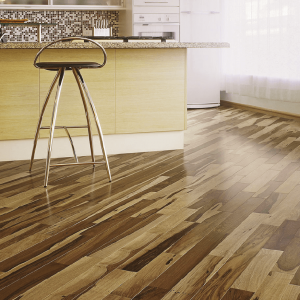 Solids Collection by Triangulo Solid Hardwood 3 in. Brazilian Pecan - Natural