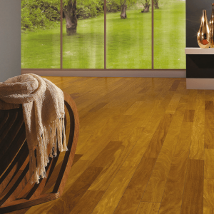 Solids Collection by Triangulo Solid Hardwood 3-1/4 in. Brazilian Teak - Natural