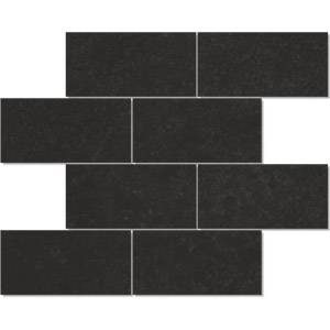 IRIS USA Deluxe Collection 3x6 Brick Mosaic Polished