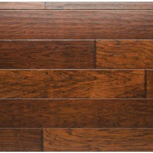 Chiseled Hickory Collection by Urban Floor 5 in. - Chestnut