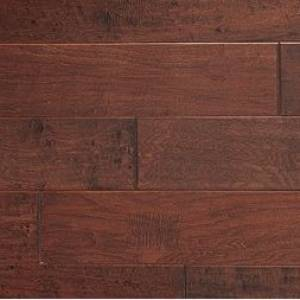 Mountain Country Collection by Urban Floor 6 in. Maple Aged Leather