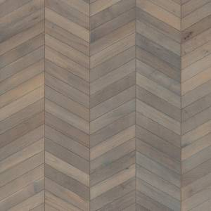"ID Chevron Collection by Kährs Engineered Hardwood 12"" White Oak - Grey"