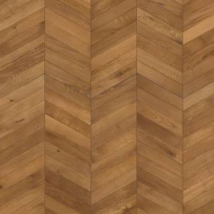 "ID Chevron Collection by Kährs Engineered Hardwood 12"" White Oak - Light Brown"