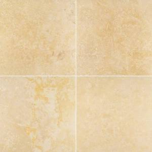 Angelica Gold Travertine - 18x18