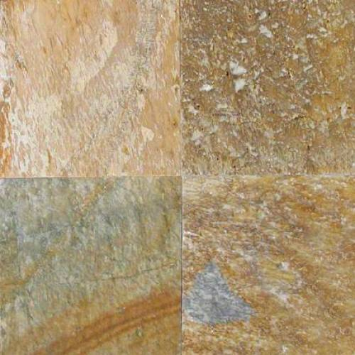 Golden White Quartzite - 4x4