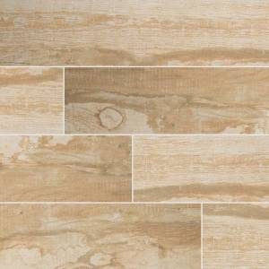 Salvage Honey Wood Look Tile - 6x40