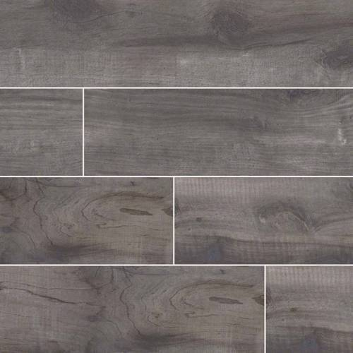 Country River Mist Wood Look Tile - 8x48