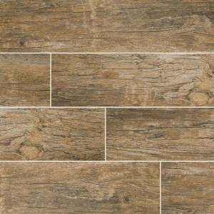 Redwood Natural Wood Look Tile - 6x24