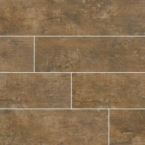 Ecowood Tungsten Wood Look Tile - 6x24