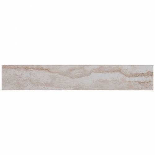 Pietra Bernini Carbone Collection by MSI Porcelain Tile 3x18 in. BullNose Polished