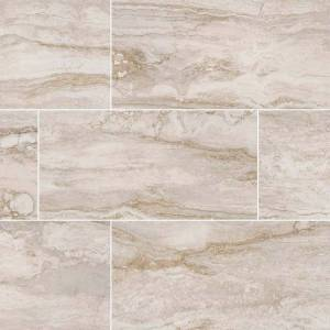 Pietra Bernini Bianco Collection by MSI Porcelain Tile 12x24 in. Matte