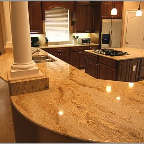 GRANITE COUNTER TOPS / SLABS - PLATINUM COLLECTION IN VARIOUS COLORS