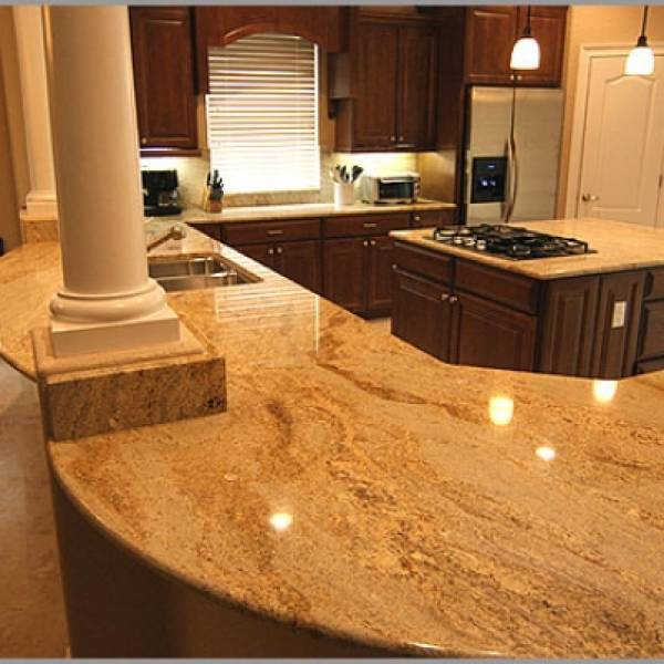 Natural Stone Kitchen Countertops: PLATINUM COLLECTION IN VARIOUS COLORS