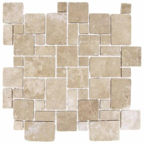 DURANGO CREAM TRAVERTINE MOSAICS