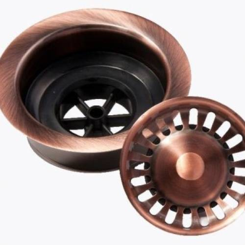 SOLID COPPER GARBAGE DISPOSAL FLANGE