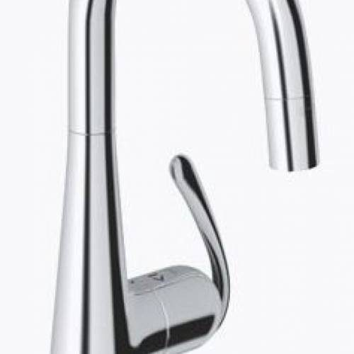 GROHE LADYLUX3 PREP SINK DUAL SPRAY PULL DOWN FAUCET -  Starlight Chrome