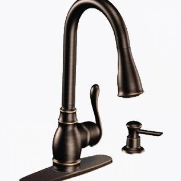 Moen Anabelle One Handle High Arc Pull Down Kitchen Faucet