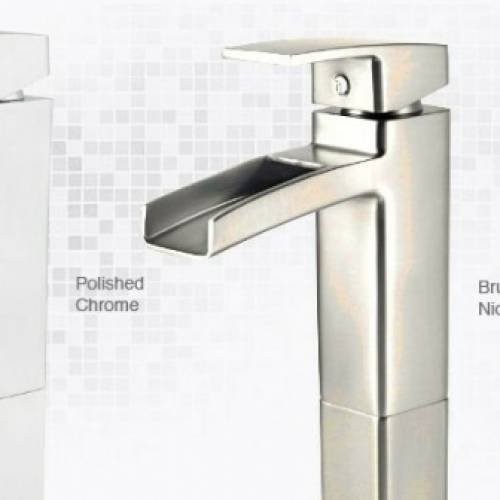 PFISTER KENZO 1 HOLE VESSEL LAVATORY FAUCET - 2 Finishes