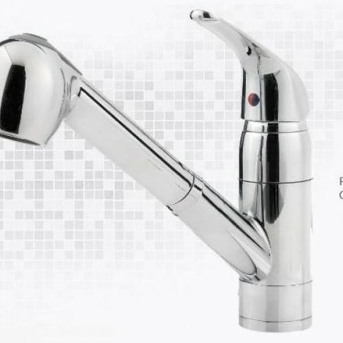 PFISTER PFIRST SERIES 1-HOLE - PULL-OUT KITCHEN FAUCET - 2 Finishes