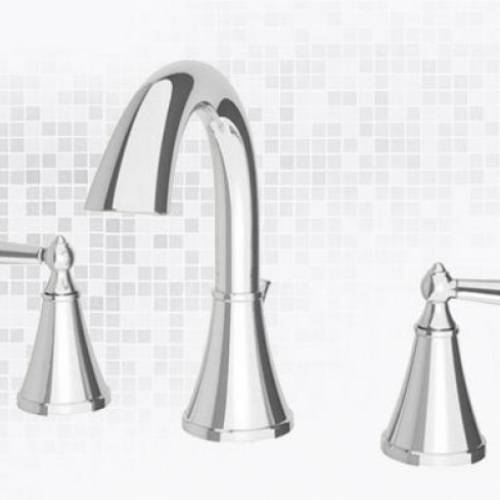 PFISTER SAXTON 3-HOLE WIDESPREAD LAVATORY FAUCET - Polished Chrome