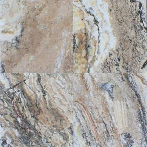 Antico Onyx Travertine - Honed & Filled