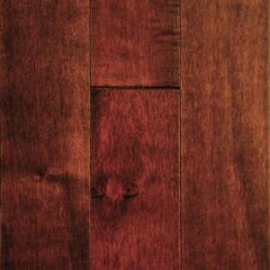 MULLICAN - Muirfield Collection - Solid 3/4 x 2-1/4  Maple - Bordeaux