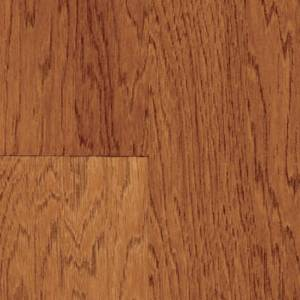 Hickory Collection by Mannington Engineered 5 in. Almond
