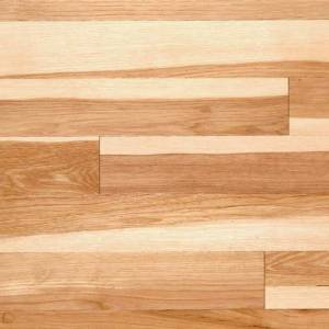 Handscraped Hickory Collection by Casabella Solid Hardwood 5 in. Hickory - Natural