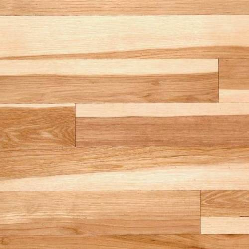 Henna Hickory Hand-Scraped Natural - Solid 3/4 x 5