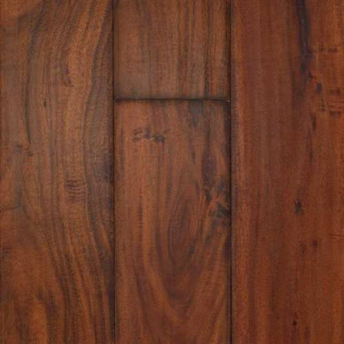 Hand-Scraped Aged Asian Walnut in Simmer - Engineered 1/2 x 4-3/4