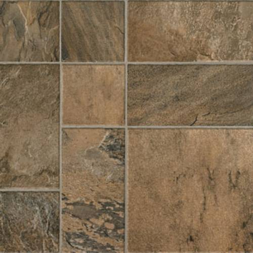 MANNINGTON - Revolutions Tile Collection - Mojave Slate in Tumbleweed